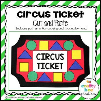 Circus Ticket Craft