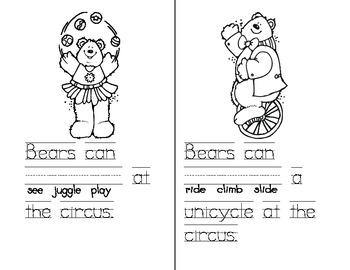 Circus Verbs