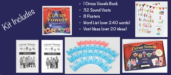 Circus Vowels: Interactive Long Vowel Reading Kit