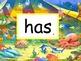 Circus Words - Kindergarten Sight Words - Set K.1