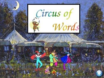 Circus Words Set B - gr 1 sight words