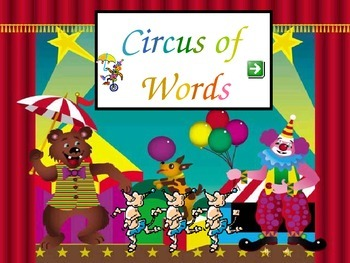 Circus Words Set C - gr 1 sight words