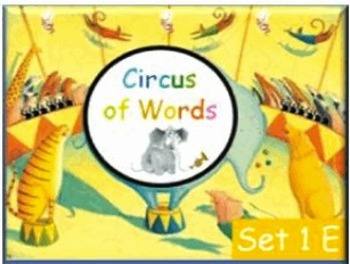 Circus Words Set E - gr 1 sight words