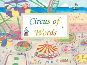 Circus Words Set F - 1st grade sight words