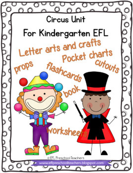 Circus Worksheets and more for Preschool ELL