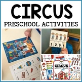 Circus Cotton Candy  & Juggling Activities for Pre-K, Preschool and Tots