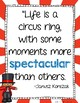 Circus and Carnival Theme Inspirational Quotes
