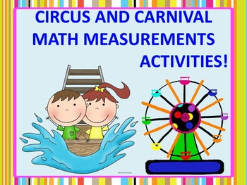 Measurement Activities: Circus and Carnival (Word Problems)