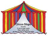 Circus big top Bingo