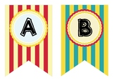 Circus bunting ABC