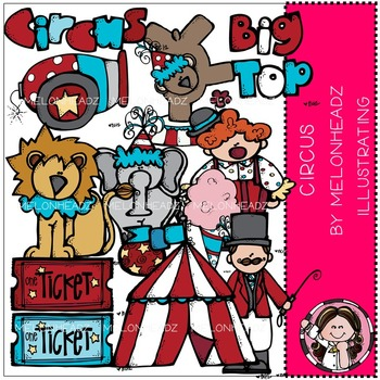 Melonheadz: Circus clip art - COMBO PACK