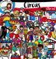 Circus clip art- big set of 73 images!