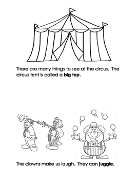 Circus nonfiction emergent reader