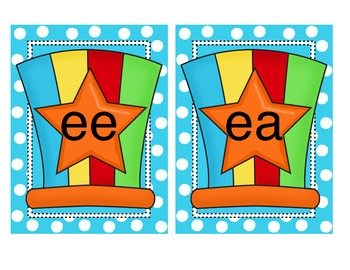 Circus or Carnival Vowel Signs