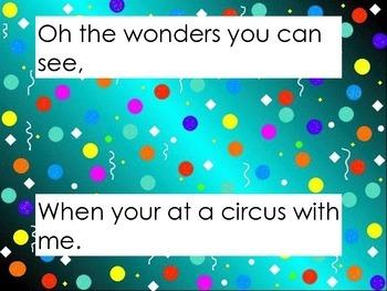 Circus sing along
