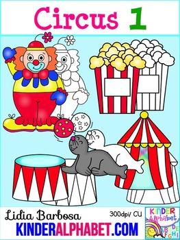 Circus1 { Clip Art for Teachers }