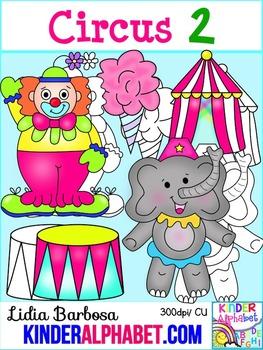 Circus2 { Clip Art for Teachers }