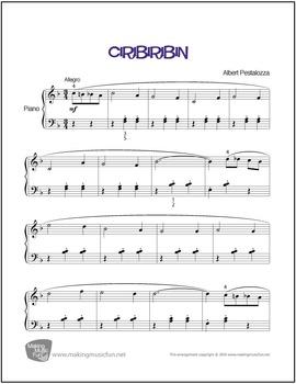 Ciribiribin | Sheet Music for Piano Solo (Digital Print)