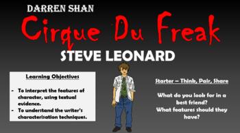 Cirque Du Freak - Steve Leonard!