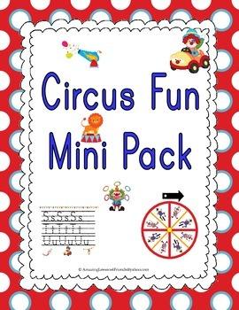 Circus Fun Mini Pack