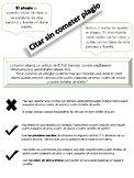 Citar sin cometer plagio (Citing without plagiarizing)