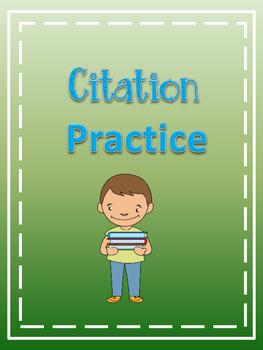 Citation Practice