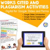 Citation Review Activities - for Google Slides
