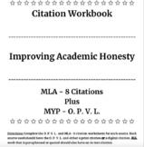 Citation Workbook, MLA Citations, MYP - OPVL