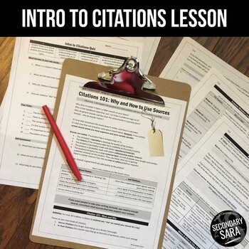 Citations are like Brand Names: Intro Lesson for ANY Research Assignment!