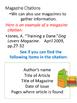 Citations for Kids!