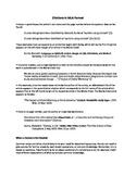 Citations in MLA Format