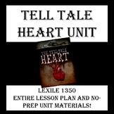 "Cite Text Evidence - Complete Lesson High Interest - Poe's ""Tell Tale Heart"""