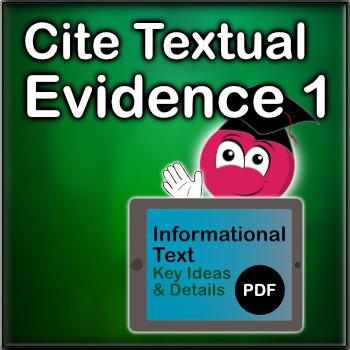Cite Textual Evidence Exercises 1