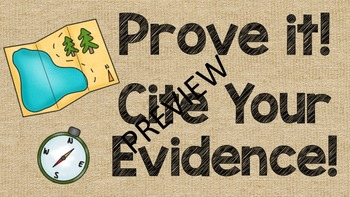 Cite Your Evidence Posters