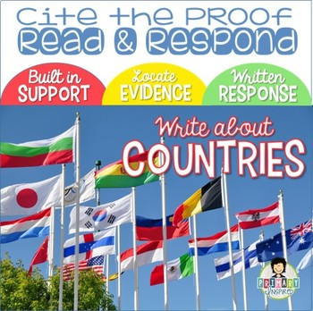 Constructed Response with Text Evidence *Countries Around the World