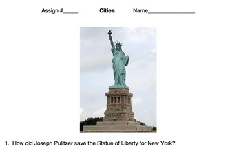 Cities - America The Story of US - Video Guide