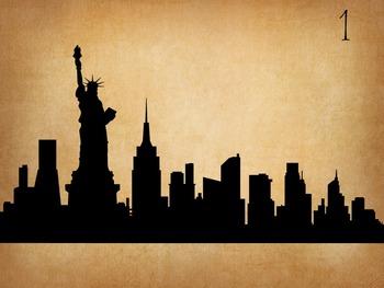 Cities Silhouettes Quiz