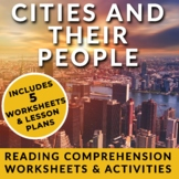 Cities and their People - ESL Reading Pack - Athens, Jerus