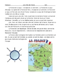 Cities of France - Comprehensible Input - Level 1