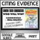 Citing Evidence WHO WOULD WIN? Nonfiction Response BUNDLE