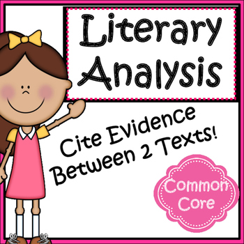 Citing Evidence Between Two Texts: Open Ended Responses