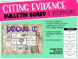 Citing Evidence - Bulletin Board
