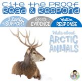 Constructed Response with Text Evidence *Polar Animals
