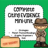 Citing Text Evidence Mini-Unit