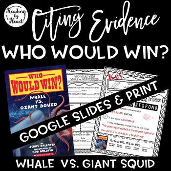 Citing Evidence Nonfiction Response Who Would Win? Whale v