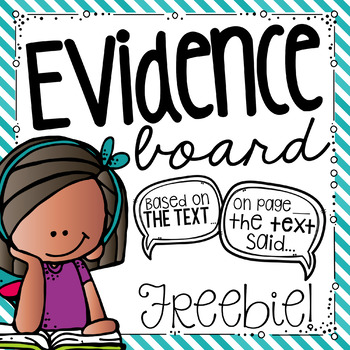 Citing Evidence Printables for Bulletin Board
