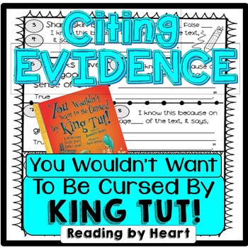 Citing Evidence Reading Response YOU WOULDN'T WANT TO BE CURSED by KING TUT!