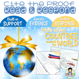 Constructed Response with Text Evidence *Around the World
