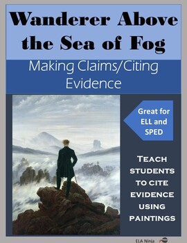 Citing Evidence with Paintings: Wanderer Above the Sea of Fog
