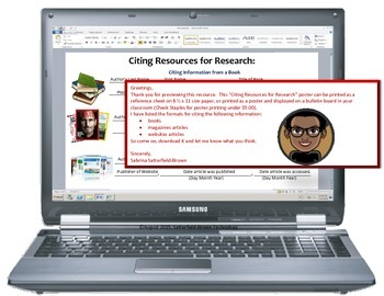 Writing/Technology: Citing Resources for Research